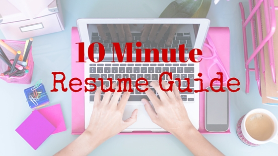 Quick Resume Guide