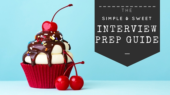 the simple sweet interview prep guide