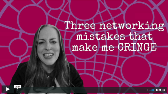 3 networking mistakes that lose you money (click to watch!)